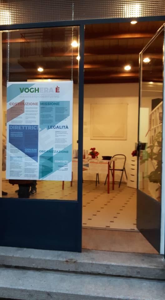 Inaugurazione della sede di Voghera È