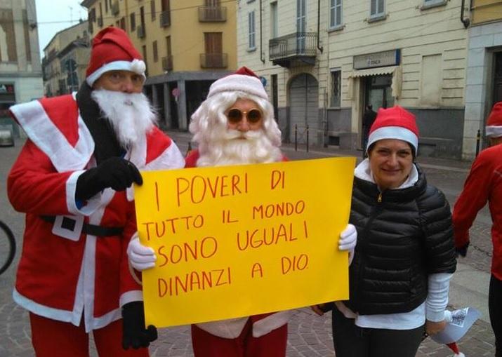 Babbi Natale per Caritas